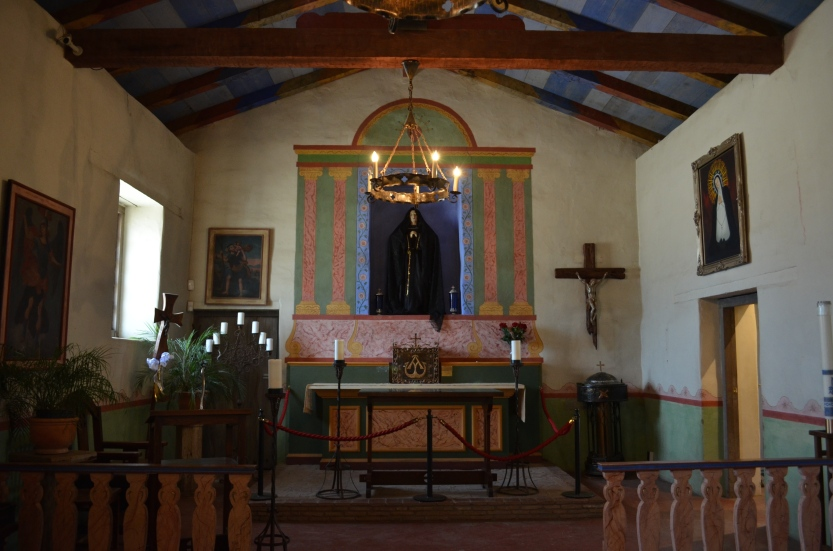 Interior of the Mission Nuestra Señora de la Soledad