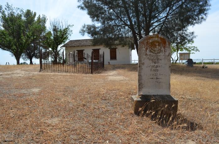 Graveyard at the Estrella Adobe Church