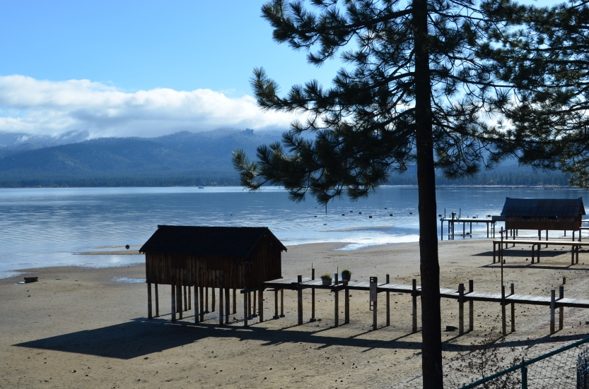 Boathouses (South Lake Tahoe, California, USA)
