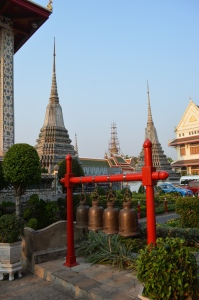 Row of bells (Wat Arun, Bangkok, Thailand)