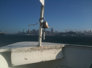 Ferry to San Francisco (Larkspur, California, USA)
