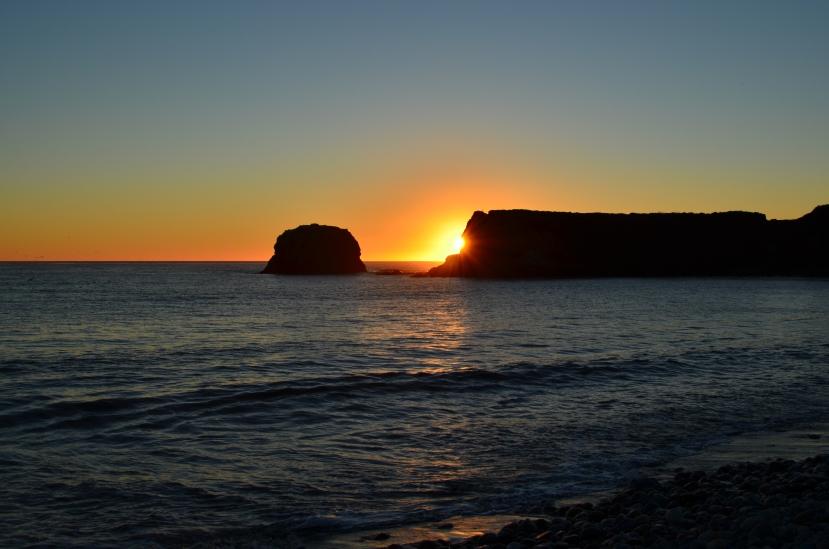 Sunset over Molera Point