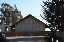 Barn at Hearst Beach