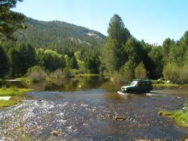 Crossing the San Joaquin River