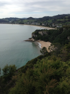 Lonely Bay and Cook's Beach