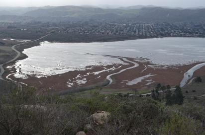 Morro Bay estuary with Los Osos in the background