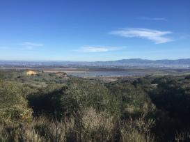 View of nearby Salinas