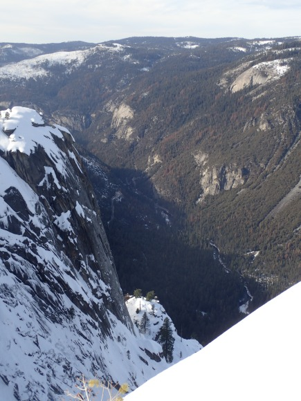 Merced River and Yosemite Valley from Dewey Point