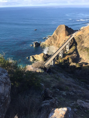My favorite view of Bixby Bridge...away from the hordes