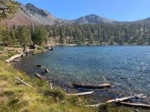Deadfall Lake looking towards Mount Eddy